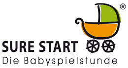 Logo Sure Start - Die Babyspielstunde